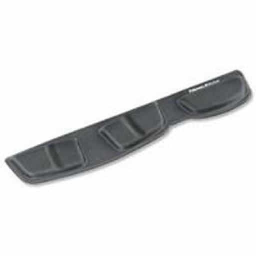 Fellowes Fabrik Keyboard Palm Support (Graphite)