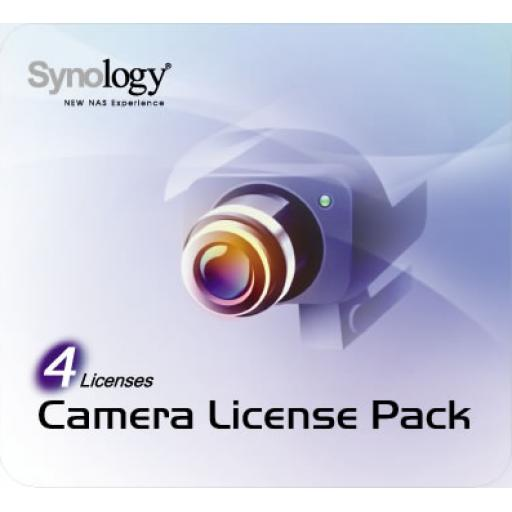 Synology Camera License Pack 4 licens 4 X CAMERA PACK