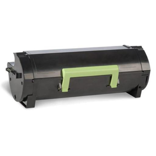 Lexmark 502 Laser Toner Cartridge Return Programme Page Life 1500pp Black Ref 50F2000