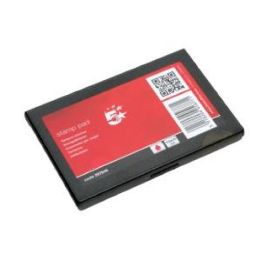 5 Star Office Stamp Pad 110x70mm Red