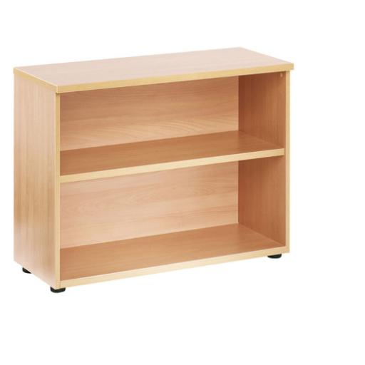 Jemini 730mm Bookcase 1 Shelf Maple KF838420