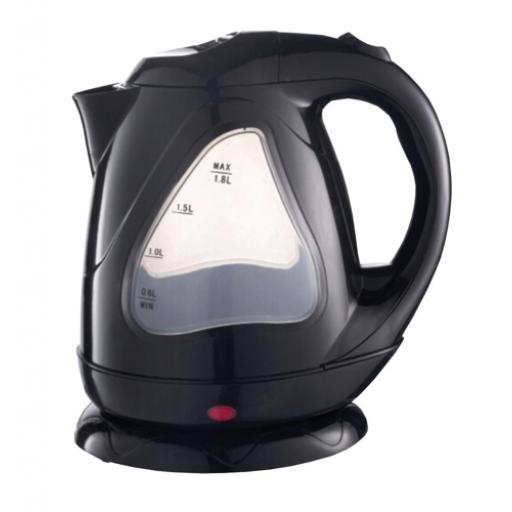 5 Star Facilities Kettle Cordless Fast Boil 3000W 1.7 Litre Black *2017 Mailer*