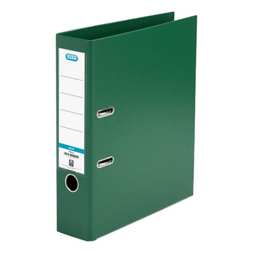Elba Lever Arch File PP 70mm Spine A4 Green Ref 100202174 [Pack 10]