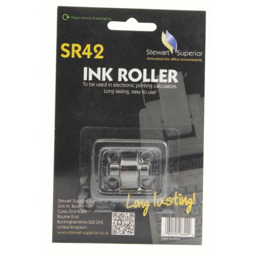 Calculator IR40T Red and Black Ink Roller SPR42
