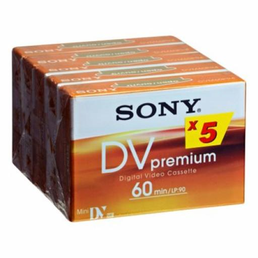 Sony 5DVM60PR blank video tape
