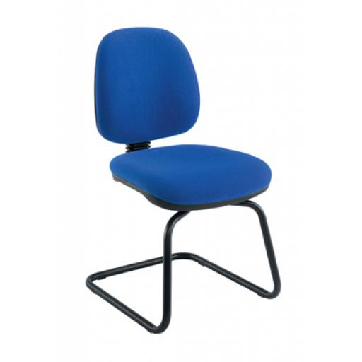 Zoom Visitor Chair Royal Blue