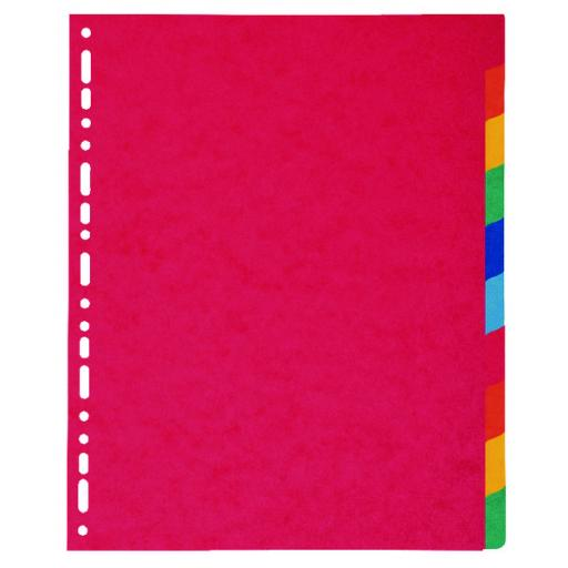 Exacompta A4 Maxi Pressboard Dividers 10 Part 2410E