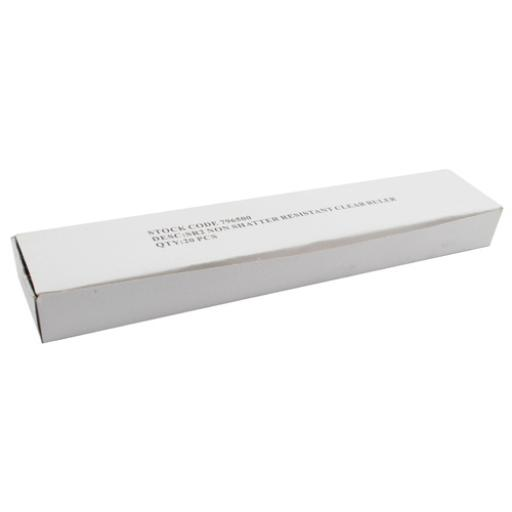 Clear Ruler 30cm (Pack of 20) 801697