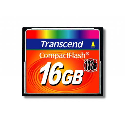 Transcend 133X (16GB) CompactFlash Card