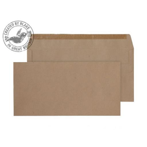 Blake Purely Everyday Envelope DL Wallet SelfSeal 80gsm Manilla Ref 11882 [Pack 1000]