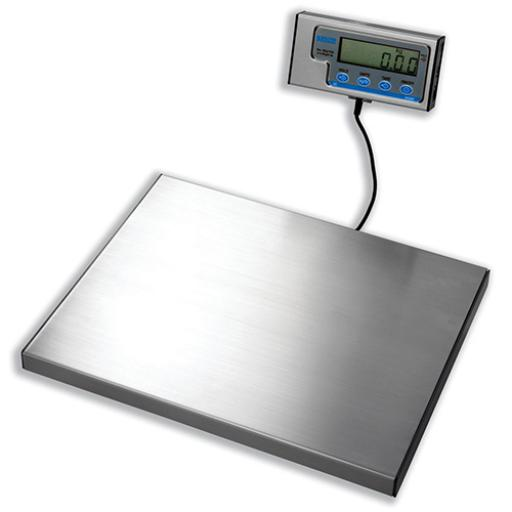 Salter WS Electronic Parcel Scale Portable with Detached LCD 20g Increments Capacity 60kg Silver Ref WS60