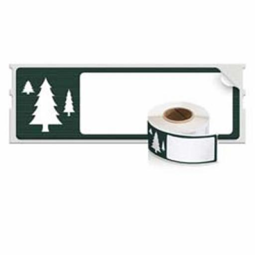 Dymo (89x28mm) LabelWriter Tree Holiday Design Limited Edition Address Labels (1 Roll of 130 Labels)