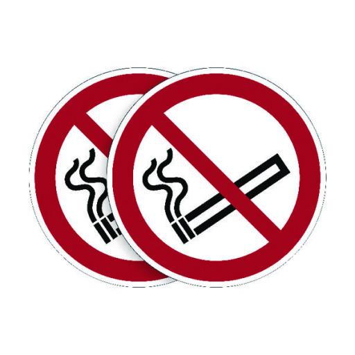 Durable Smoking Prohibited Sign (Pack of 5) BOGOF DB18737