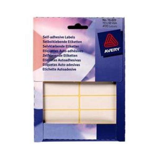 Avery 16-023 White Labels in Wallets [Pack 406]