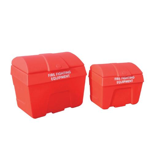 Red 400 Litre Fire Fighting Storage Bin Static 325911