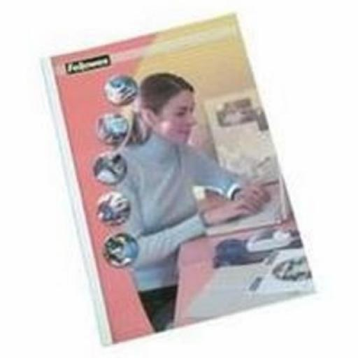 Fellowes (1.5mm) Thermal Binding Covers (Pack of 100 Binding Covers)