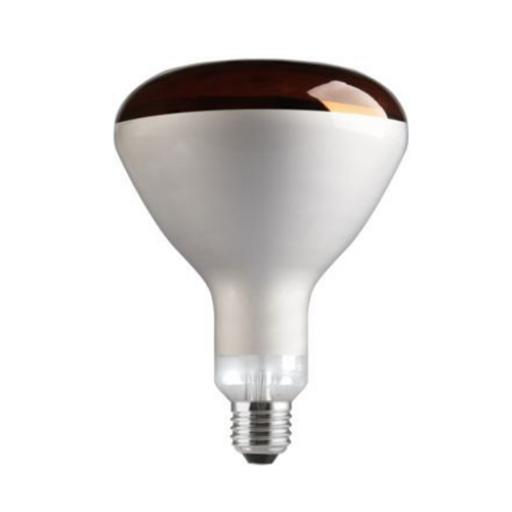 GE 250W Infrared E27 Reflector Incandescent Bulb Dimmable 240V Red Ref91391 *Up to 10 Day Leadtime*