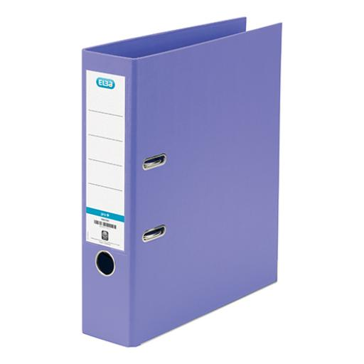 Elba Lever Arch File PP 70mm Spine A4 Purple Ref 100202167 [Pack 10]