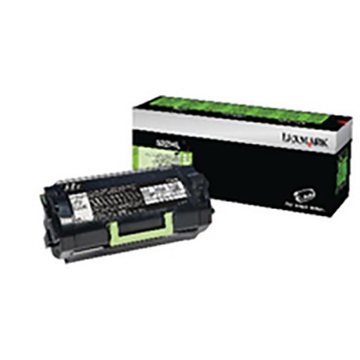 Lexmark 522HL Laser Toner Cartridge High Yield Page Life 25,000pp Black Ref 52D2H0L