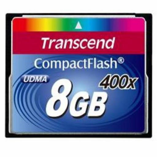 Transcend 400X 8GB CompactFlash Card