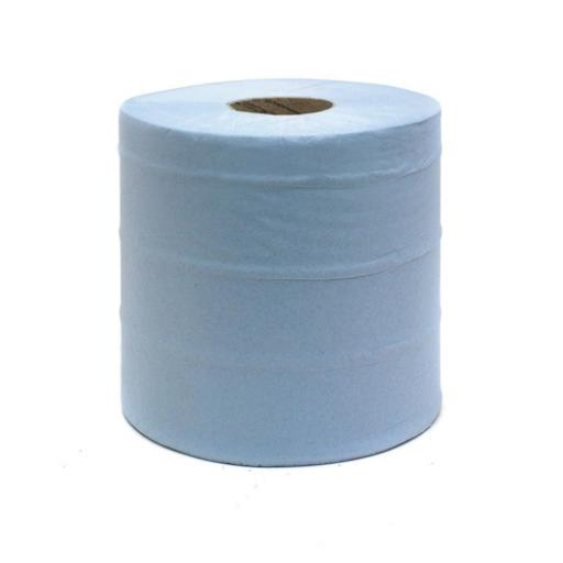 Blue Centrefeed Roll 2 Ply 150m (Pack of 6) KMAT6238
