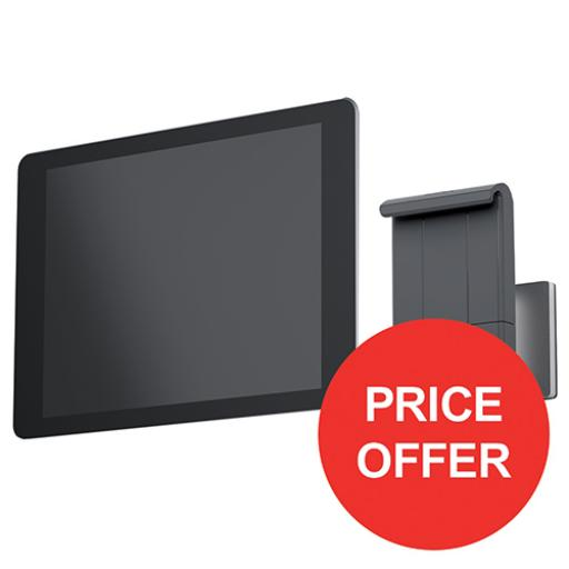 Durable Wall Tablet Holder Aluminium Ref 893323 [FREE Cleaning Kit] Apr-Jun 2018