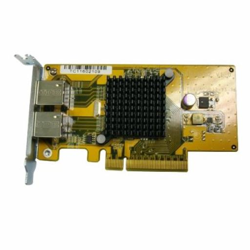 QNAP Dual-port 1GbE NIC card for A01 series racks