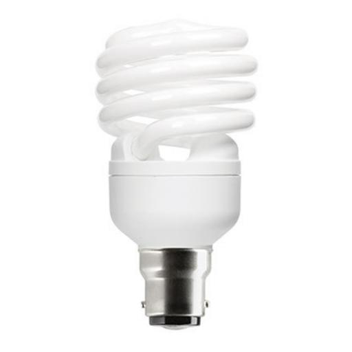 GE 23W T2 Heliax B22d Spiral CptFlres Bulb Bayonet 1450lm EEC-A ExtWrmWhite Ref85649 *Upto 10DayLeadtime*