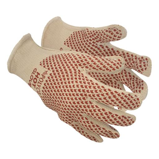 Polyco Hot Gloves 250C Heat Resist Nitrile-grip Double-layered Size 9 Ref 9010