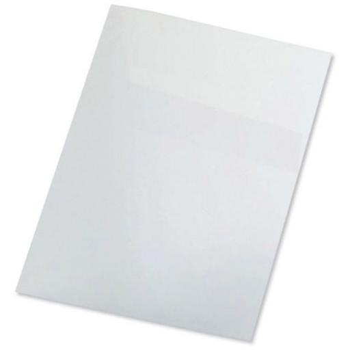 GBC PolyCovers Opaque Binding Covers Polypropylene 300 micron A4 White Ref IB386817 [Pack 100]