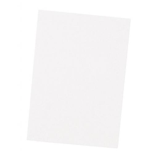 Clairefontaine Coloured Card Smooth 270gsm 700x500mm White Ref 97263C [25 Sheets]