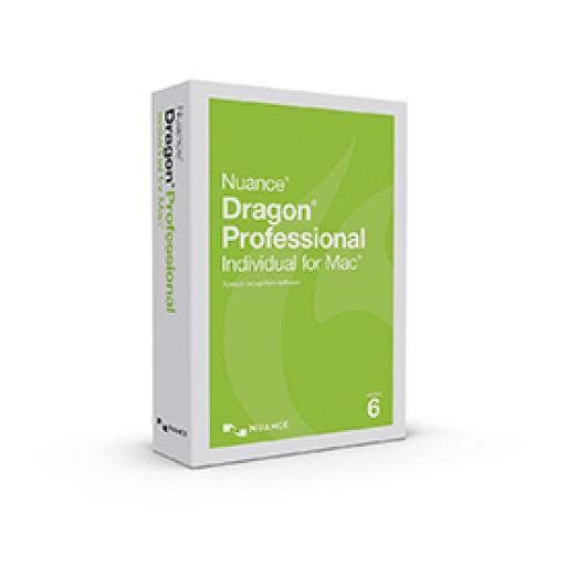 Nuance Dragon Professional Individual 6.0 for Mac Educational OVP Box Copy