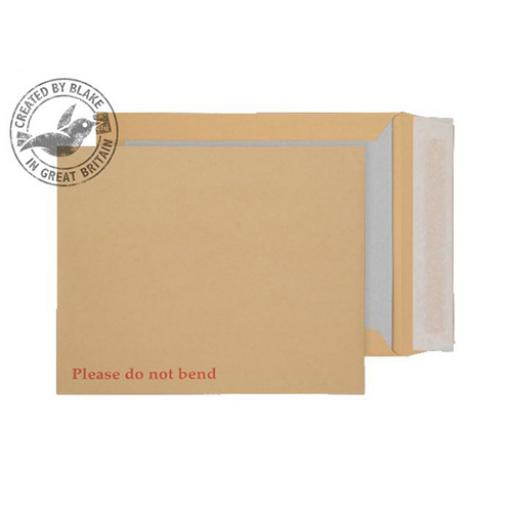 Blake PurelyPackaging Env Board Back P&S 267x216mm 120gsm Manilla Ref22935 [Pack125]