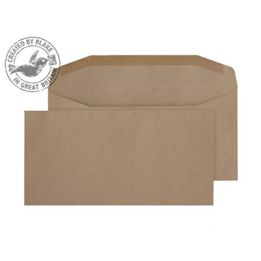 Blake Purely Everyday DL Mailing Wallet Gummed 80gsm Manilla Ref 13780 [Pack 1000]