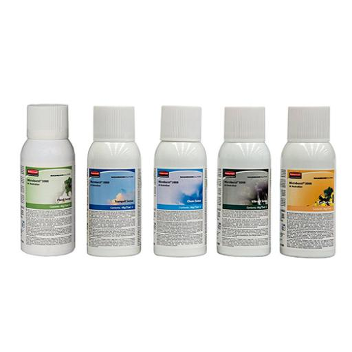 Rubbermaid Microburst Air Freshener Refill 75ml Mixed Scents Ref R0260100 [Pack 10]