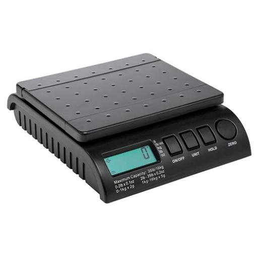 Postship Multi Purpose Scale 2g Increments Capacity 16kg LCD Display Black Ref PS160B
