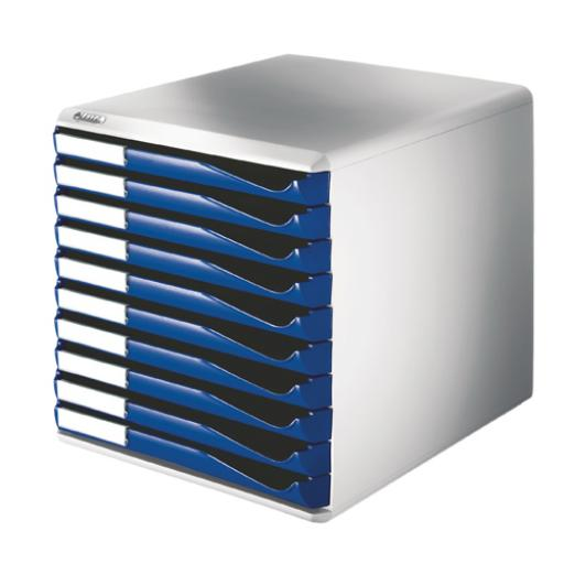 Leitz 10 Drawer Form Set Blue 5281-0035