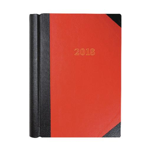 Collins A4 Desk Diary 2 Pages Per Day 2018 Black 47