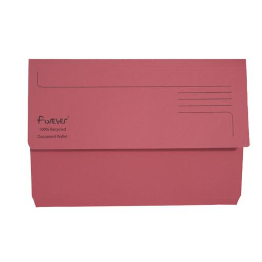 Guildhall Forever Bright Pink Document Wallet Pack of 25 211/5002
