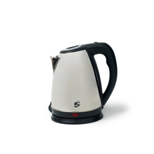 5 Star Facilities Kettle Cordless 1.7 Litre Stainless Steel *2017 Mailer*