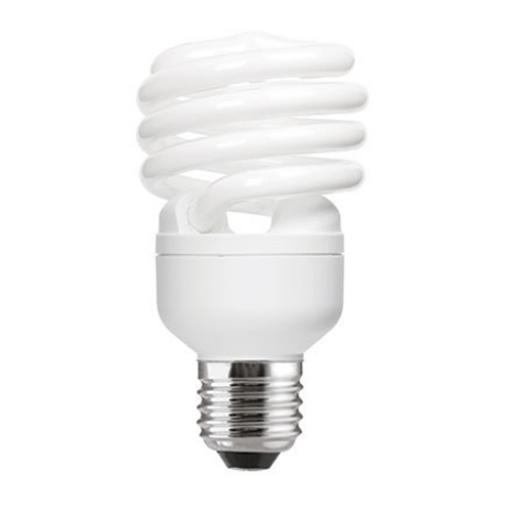 GE 23W T2 Heliax E27 Spiral Cpt Flrs Bulb Screw Fit 1380lm EEC-A CoolWhite Ref85650 *Upto 10Day Leadtime*