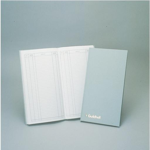Guildhall Justso Postage Book 80 Pages Light Grey T229 1800