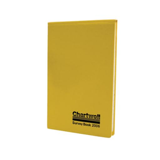 Chartwell Weather-Resistant Survey Field Book 130x205mm Yellow 2006
