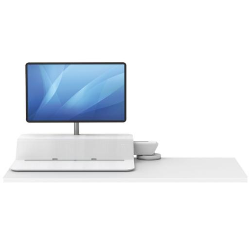 Fellowes Lotus Sit Stand Work Station White 8081801