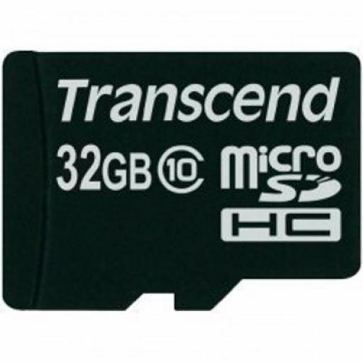 Transcend Premium (32GB) MicroSDHC Flash Card without Adaptor (Class 10)