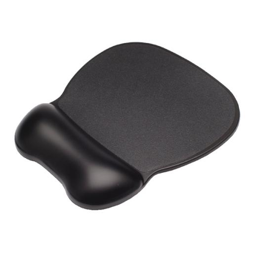 Contour Ergonomics Soft Skin Gel Mouse Mat Wrist Rest Black CE77000