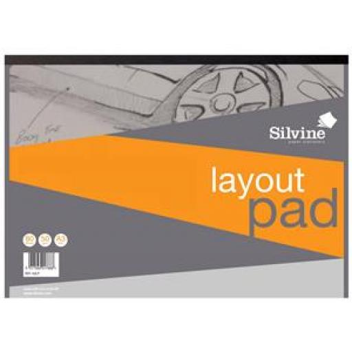 Silvine Acid Free (A3) Bank Layout Paper 50gsm 50 Sheets (Prize Draw) April-December 2016