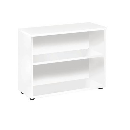 First 730mm Bookcase White