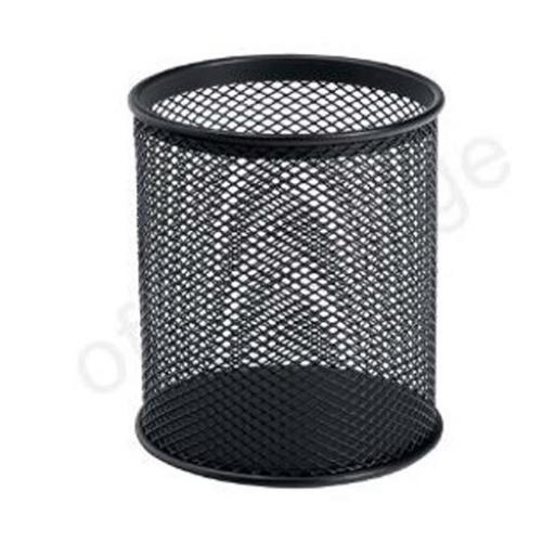Wire Mesh Pencil Holder (Black)