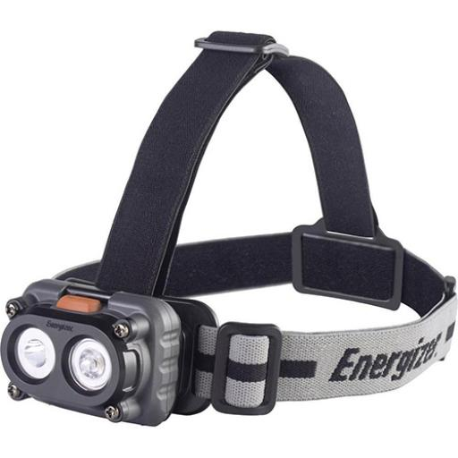 Energizer Hard Case Pro Magnet Headlight with 3 x AAA Alkaline Batteries